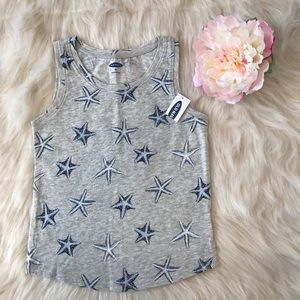 Old Navy Cute & Comfy Starfish Print Jersey Tank